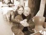 Avec ma fille johanna